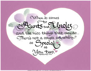 Aunt And Uncle Poems